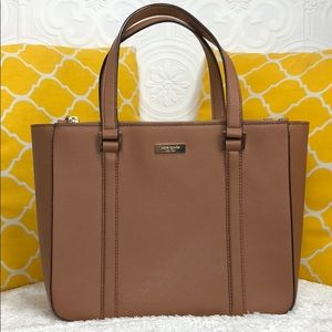 🌸OFFERS?🌸Kate Spade All Leather Brown Purse